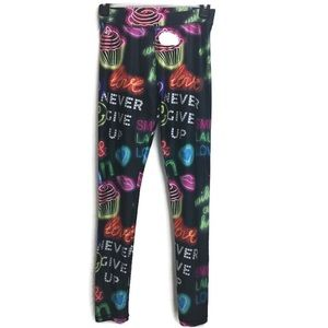 Justice Never Give Up Leggings
